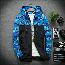 Load image into Gallery viewer, Recon Windbreaker Jacket - Blue / Asia M / Us Xs