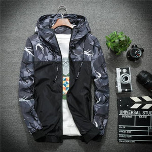 Recon Windbreaker Jacket - Gray / Asia M / Us Xs