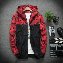 Load image into Gallery viewer, Recon Windbreaker Jacket - Red / Asia M / Us Xs