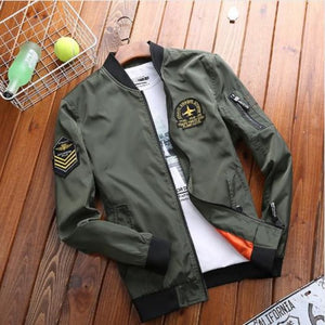 Sgt Bomber Jacket - Army Green / Asia Xl / Us M