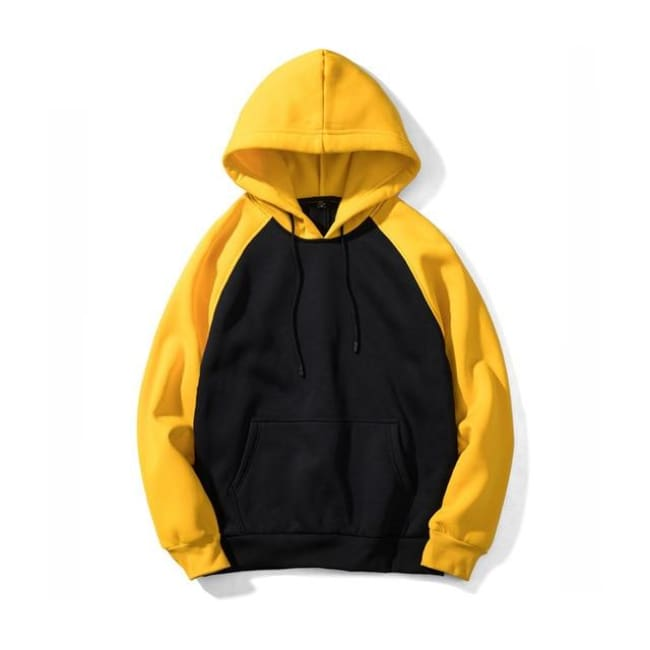 Super Sonic Hoodie - Black / Yellow / Asia S / Us Xxs