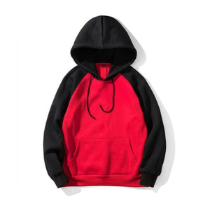 Super Sonic Hoodie - Red / Black / Asia S / Us Xxs