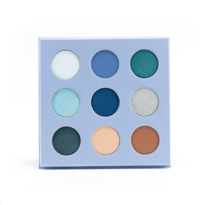 Baby Blue Eyeshadow Palette