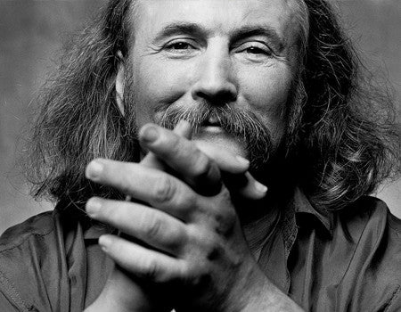 David Crosby at groundUP Records