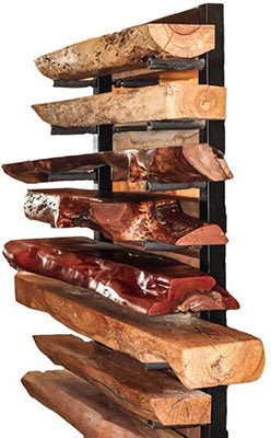 Live Edge Fireplace Mantles