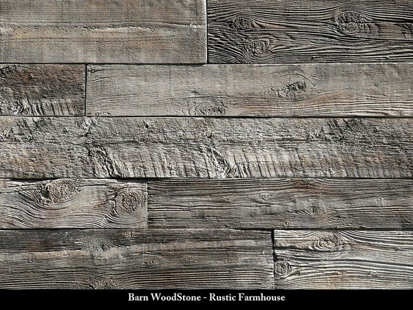 Barn WoodStone-Rustic Farmhouse - BellStone