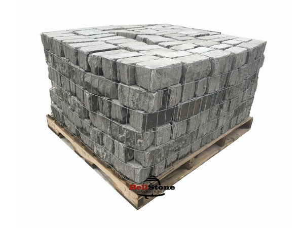 Ark Blue Tumbled Pavers - BellStone