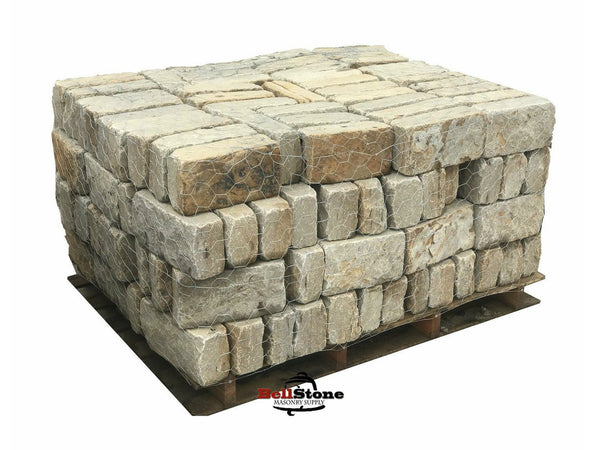 Arkansas Tumbled Pavers - BellStone