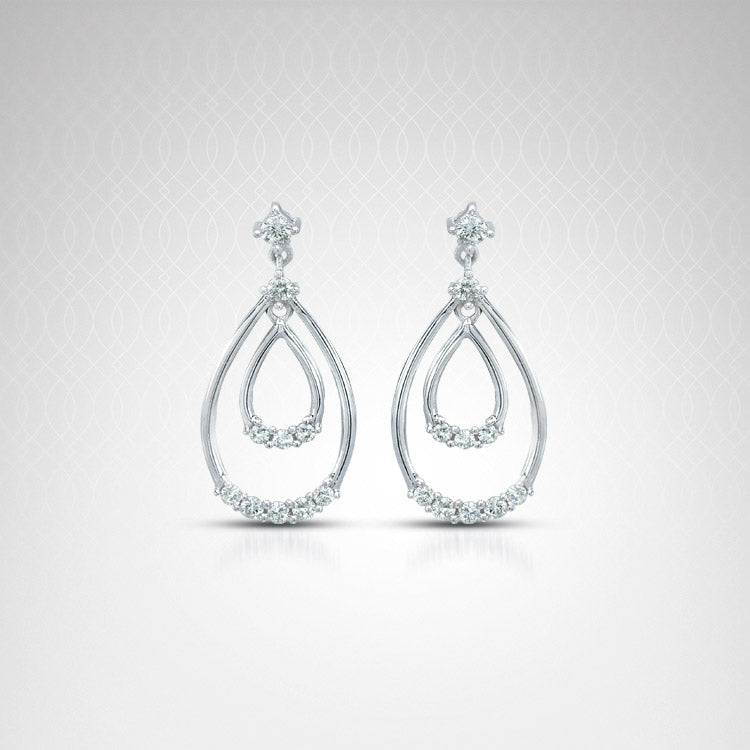 Uni-Design Diamond Fashion Earrings