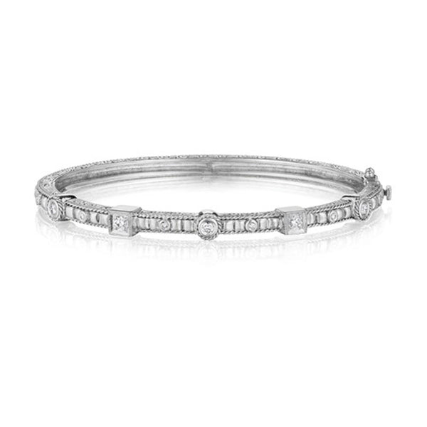 Penny Preville - 18K WG 0.27ctw Diamond Bangle, B3027W