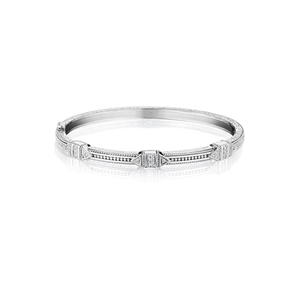 Penny Preville - 18K WG 0.36ctw Diamond Bangle, B7190W