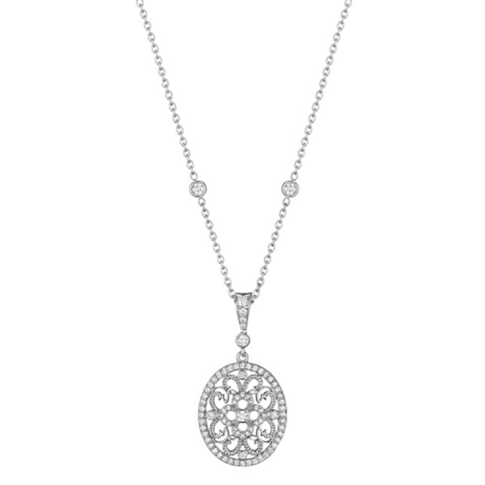 Penny Preville - 18K WG 0.52ctw Diamond Lace Enhancer, C6294W