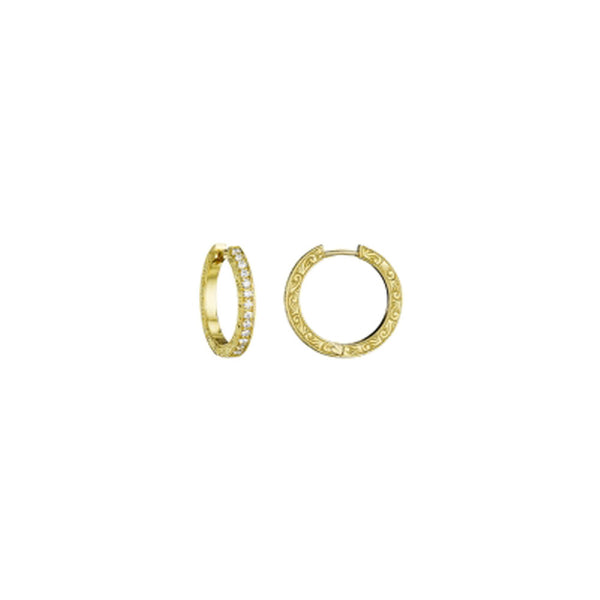 Penny Preville - 18K YG 0.33ctw Diamond Earrings, E7228G