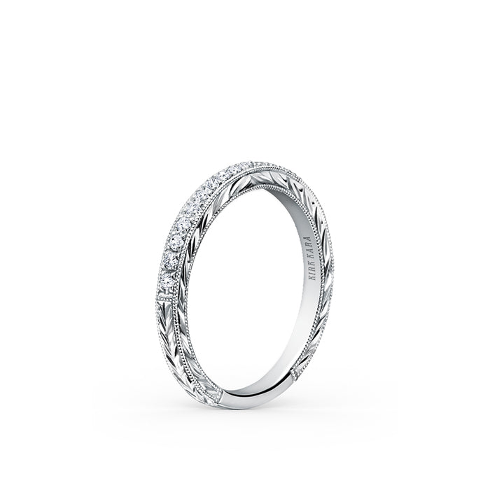 Kirk Kara Wedding band K1170D-B