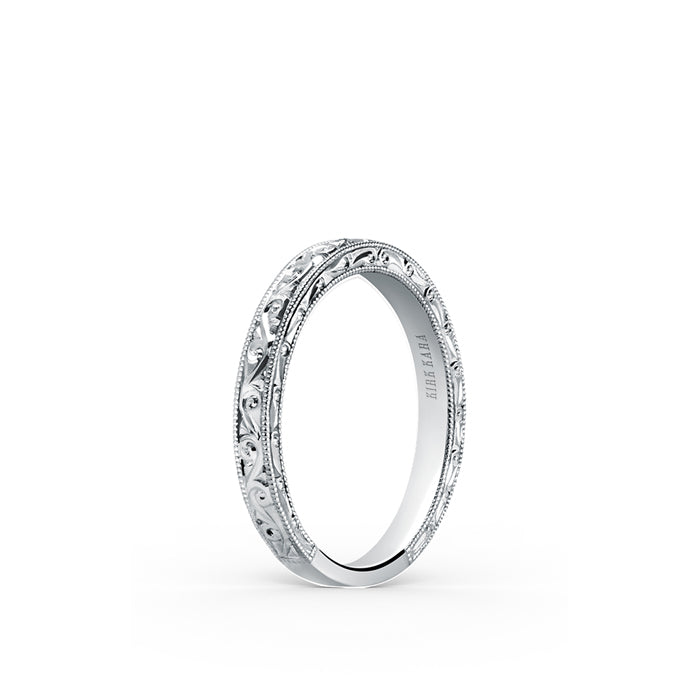 Kirk Kara Wedding band K160EN-B