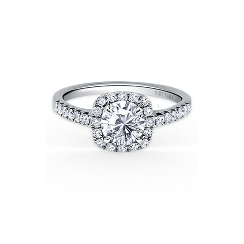 Kirk Kara Carmella - 18k white gold 0.36ctw Diamond Engagement Ring, K184C6R