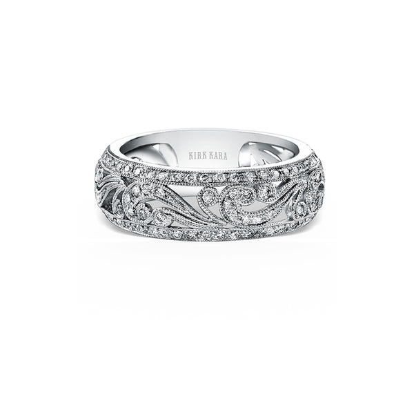 Kirk Kara Wedding band KF1010D-B