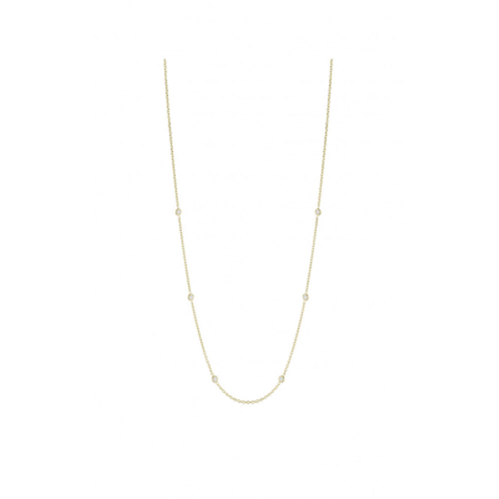 Penny Preville - 18K YG 0.30ctw Diamond Classic Necklace, N7125G