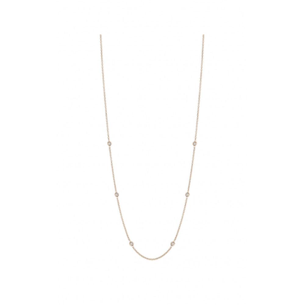 Penny Preville - 18K RG 0.30ctw Diamond Classic Necklace, N7125R