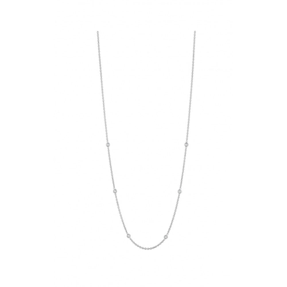 Penny Preville - 18K WG 0.30ctw Diamond Classic Necklace, N7125W