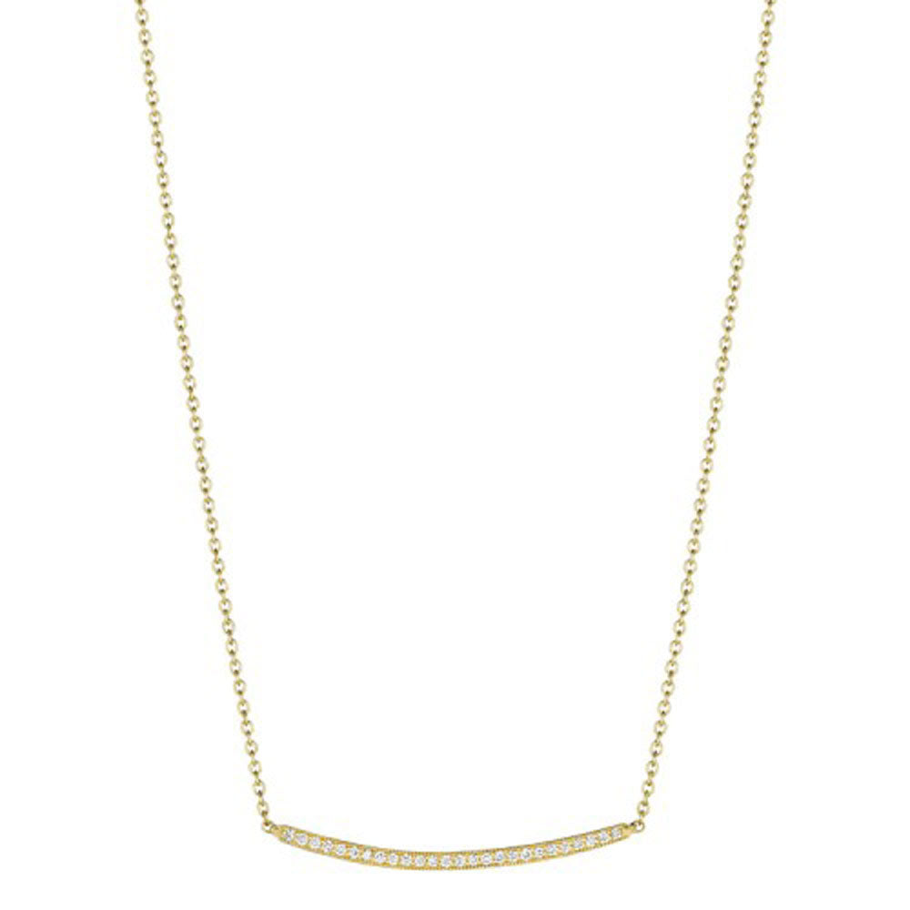 Penny Preville - 18K YG 0.26ctw Diamond Forever Necklace, N7422G