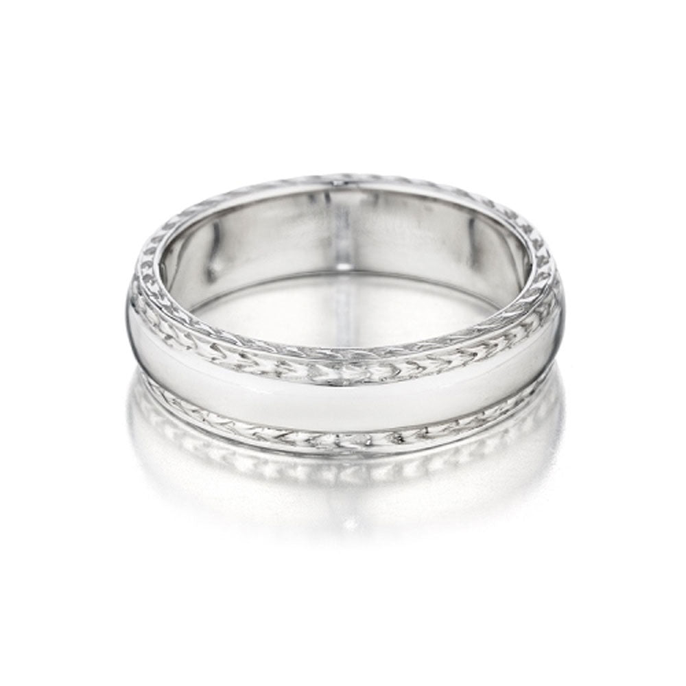 Penny Preville - 18K WG Wedding Band, R7210W