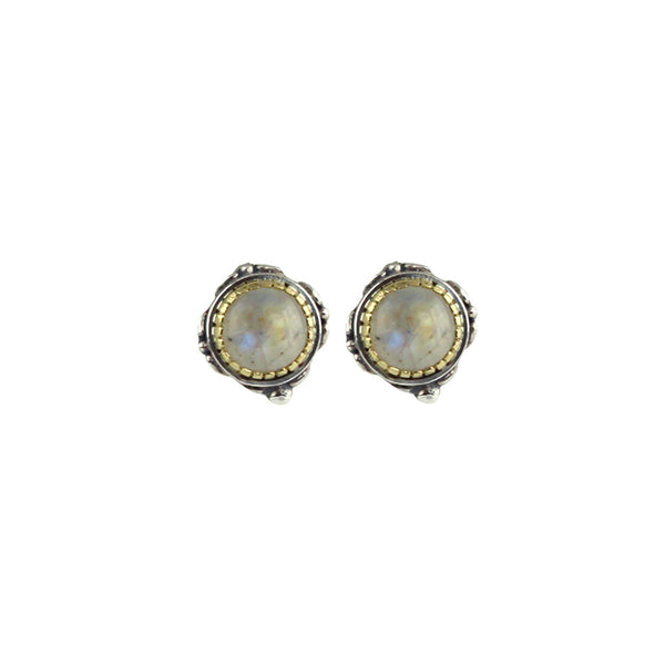 Konstantino - SS/18k YG Labradorite Earrings, SKKJ560-115