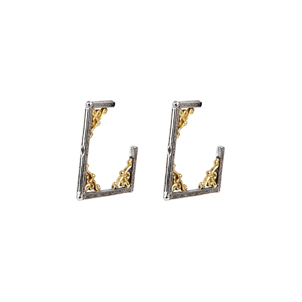 Konstantino - SS/18k YG Earrings, SKKJ587-130