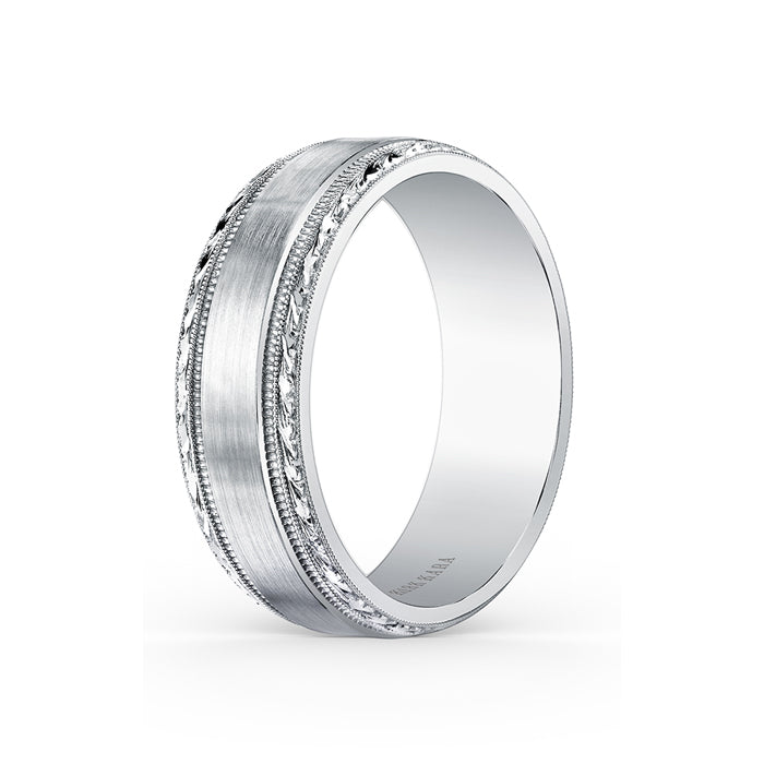 Kirk Kara Wedding band SS6974M-B