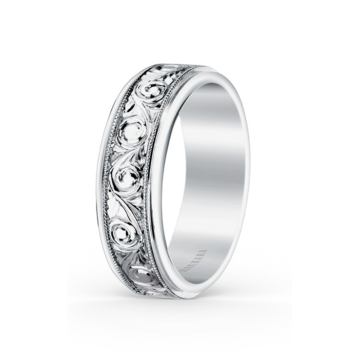 Kirk Kara Wedding band SS6980M-B