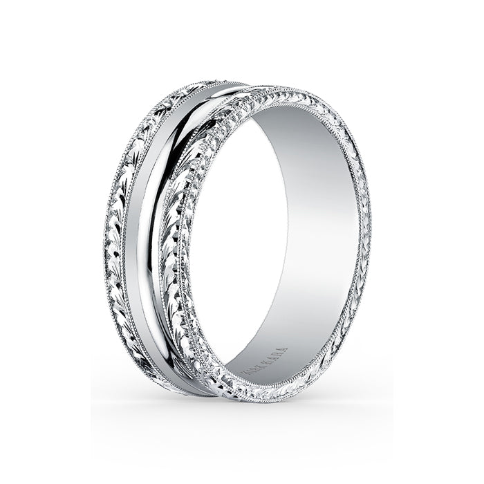 Kirk Kara Wedding band SS6981M-B