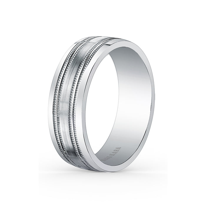 Kirk Kara Wedding band SS6985M-B