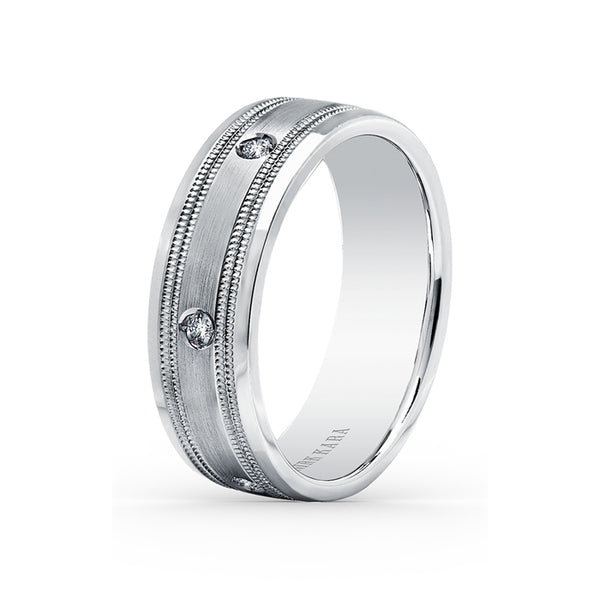 Kirk Kara Wedding band SS6985MD-B