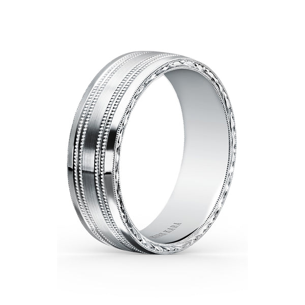 Kirk Kara Wedding band SS6985ME-B