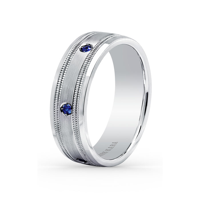 Kirk Kara Wedding band SS6985MS-B
