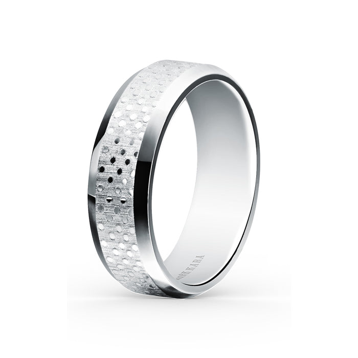 Kirk Kara Wedding band SS7000M-B