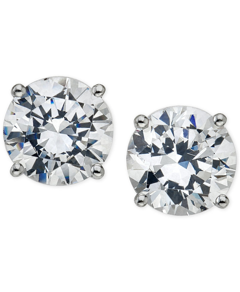 14K WG 1.00CTW IJ I1 DIAMOND STUD EARRINGS