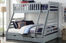 Space Triple Bunk Bed with 2 Drawers
