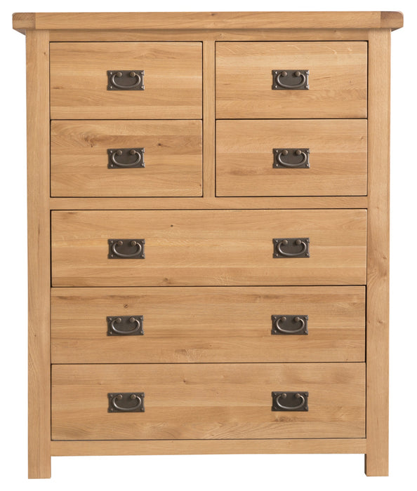 Kings Park 4 over 3 Drawer Chest