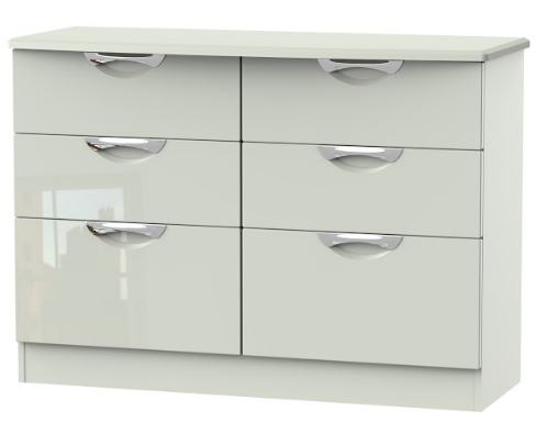 Camden 6 Drawer Midi Chest