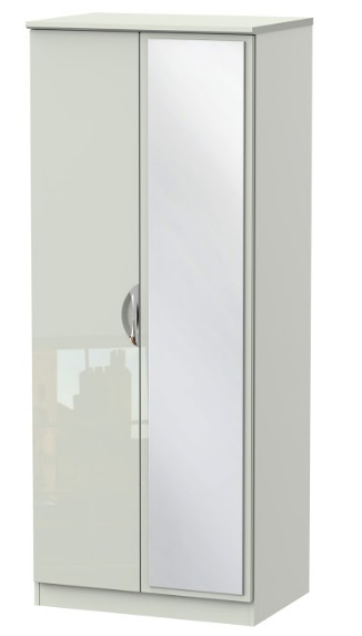 Camden 2ft6in Mirror Wardrobe