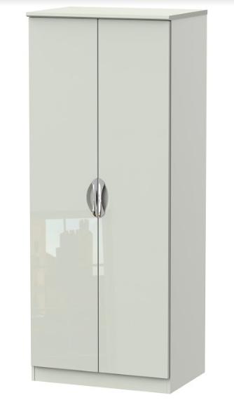Camden Tall 2ft6in Double Hanging Wardrobe