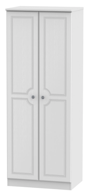 Pembroke Tall 2ft6in Double Hanging Wardrobe