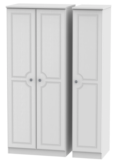 Pembroke Triple Plain Wardrobe