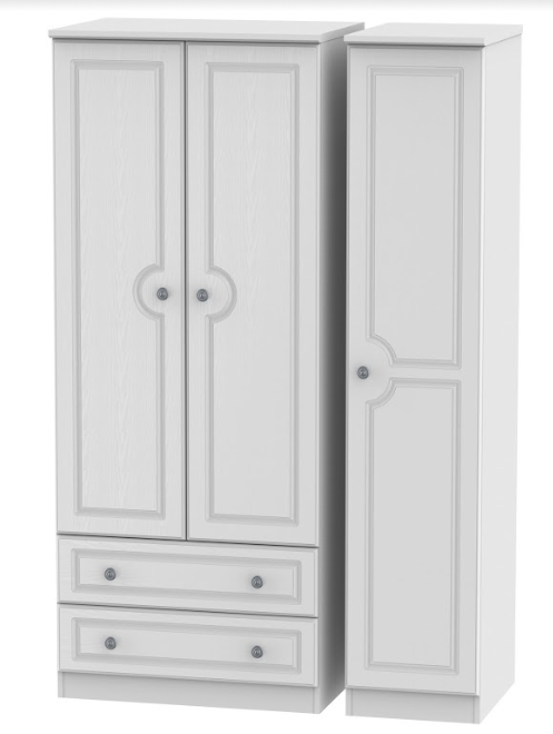 Pembroke Triple 2 Door Wardrobe