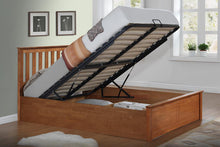 Pheonix Ottoman Wooden Bed Frame