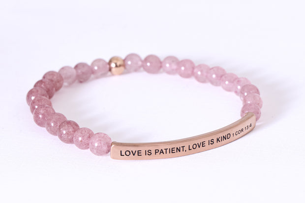 LOVE IS PATIENT, LOVE IS KIND 1 Cor 13:4 ****FLASH SALE UP TO 75% OFF