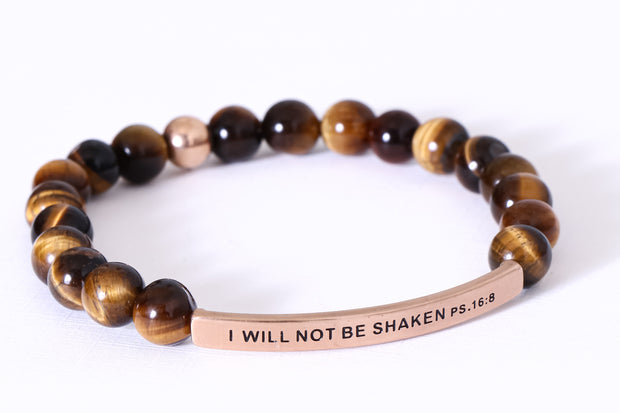 I WILL NOT BE SHAKEN PSALMS 16:8