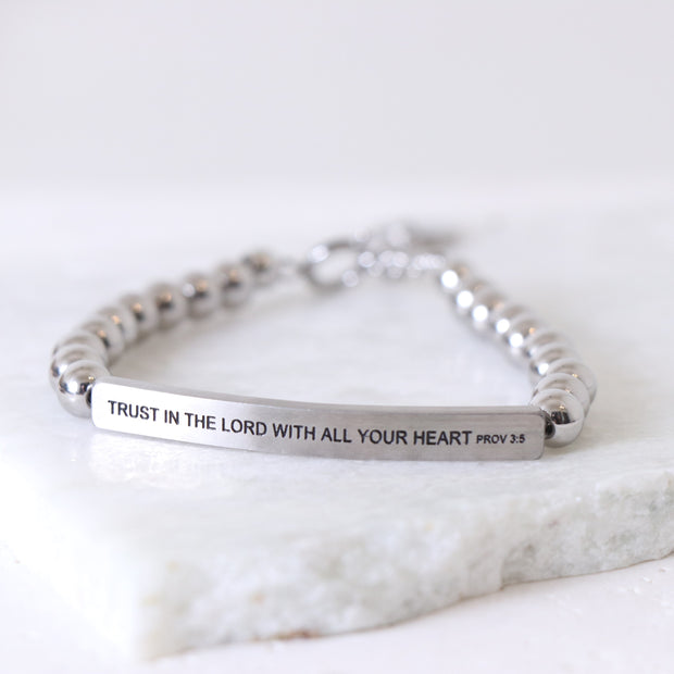 TRUST IN THE LORD WITH ALL YOUR HEART PROV 3:5