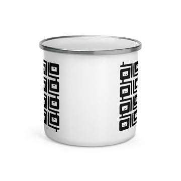 Z | Black Pepper No. 3 Enamel Mug